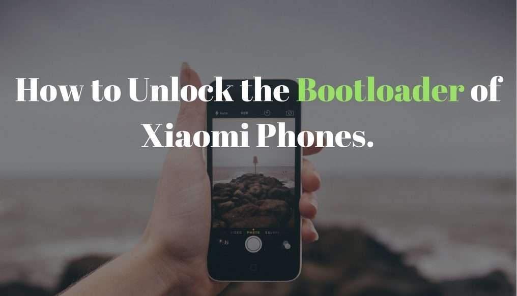 unlock the bootloader of xiaomi