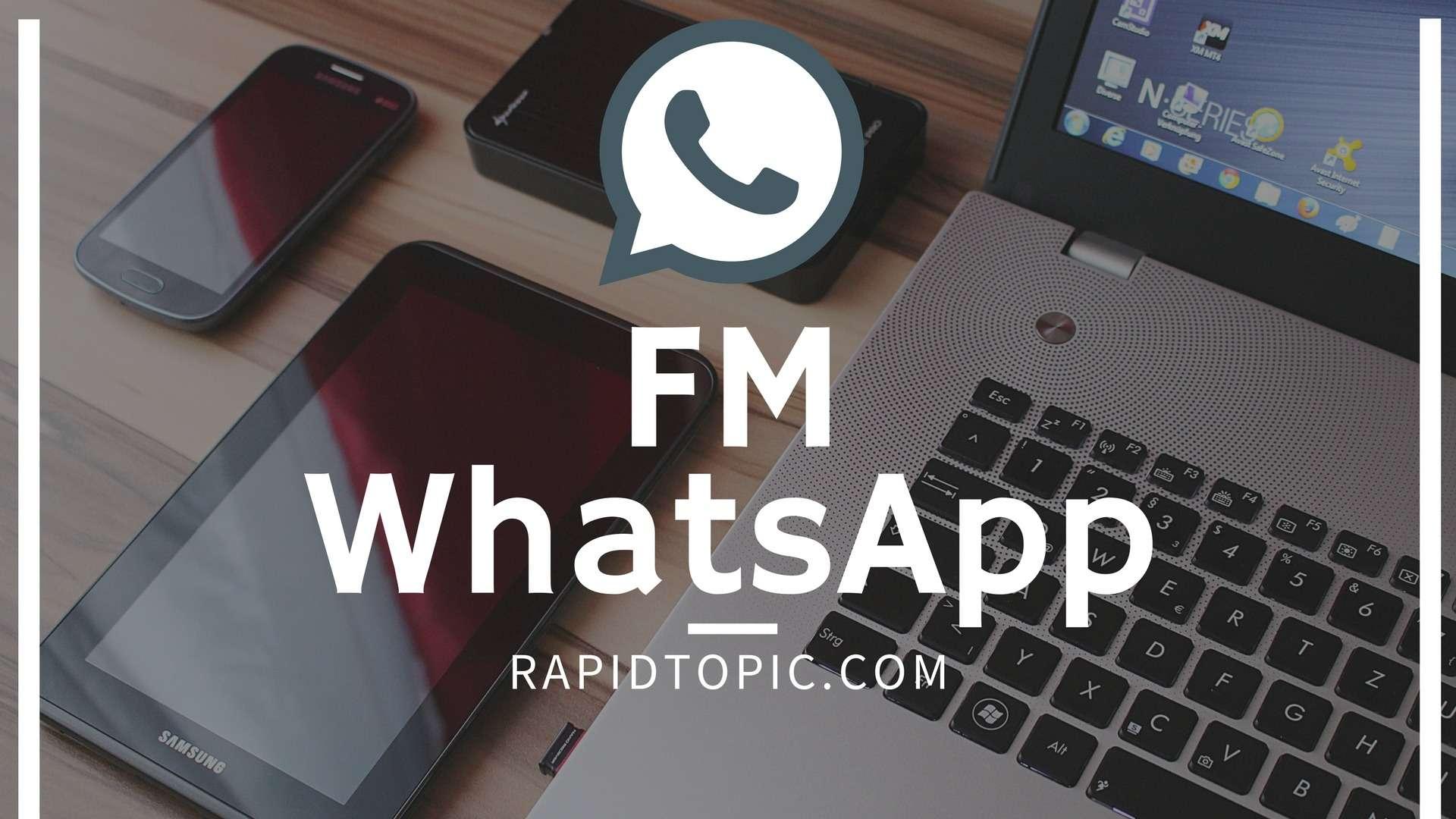 FM whatsapp apk moded